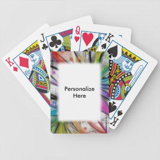 Kaleidoskop-Libelle Bicycle Spielkarten
