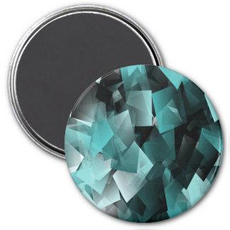 Kaleidoskop… Runder Magnet 7,6 Cm