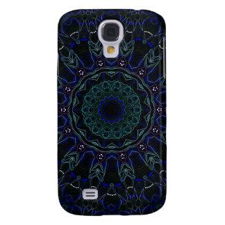 Kaleidoskop Samt-Rosen-Nr. 3 Galaxy S4 Hülle