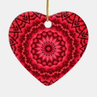 Kaleidoskop-Weihnachtsbaum Keramik Ornament