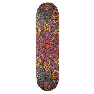 Kaleidoskop-Yoga-Muster 20,6 Cm Skateboard Deck