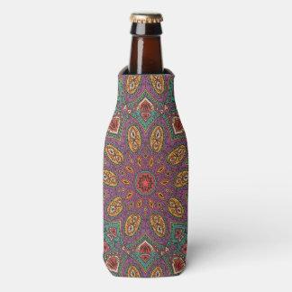 Kaleidoskop-Yoga-Muster Flaschenkühler