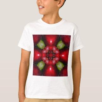 Kaleidoskopäpfel und -trauben T-Shirt