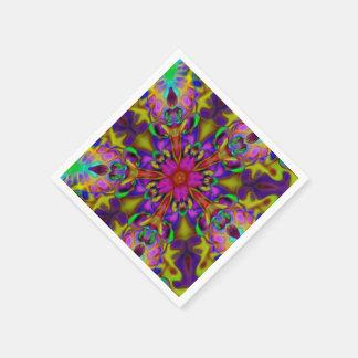 Kaleidoskopapophysis-Fraktal-Kunst - II Papierserviette