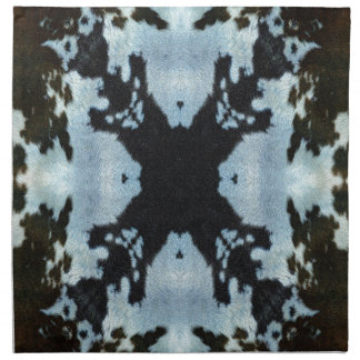 Kaleidoskopkuh-Fellmuster Serviette