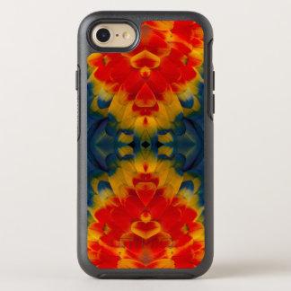 KaleidoskopScharlachrot Macaw-Entwurf OtterBox Symmetry iPhone 8/7 Hülle