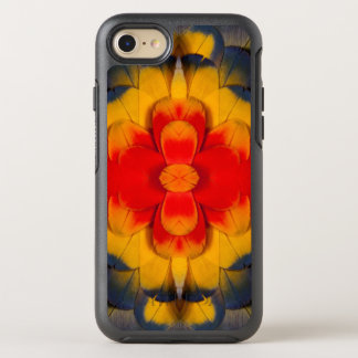 KaleidoskopScharlachrot Macaw-Feder OtterBox Symmetry iPhone 8/7 Hülle