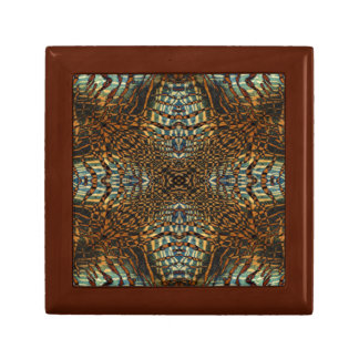 Kaleidoskoptiger-Pelzmuster Geschenkbox