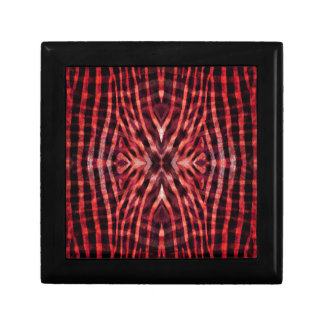 Kaleidoskopzebra-Haut-Muster Geschenkbox