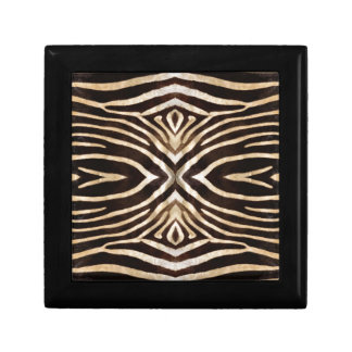 Kaleidoskopzebra-Pelz-Muster Erinnerungskiste
