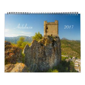 Kalender 2017 Andalusiens, Spanien
