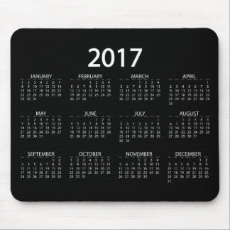 Kalender 2017 mousepads