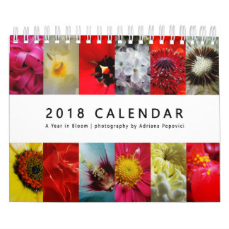 Kalender 2018: Ein Jahr in der Blüte