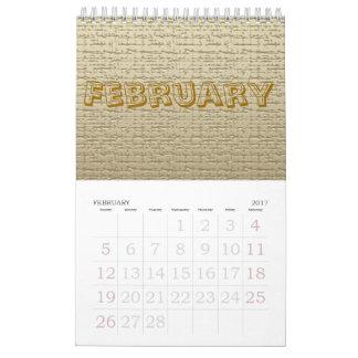 Kalender - Beschaffenheiten