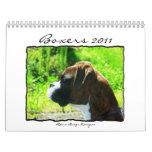 Kalender der Boxer-2011