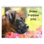 Kalender der Boxer-Welpen-2011