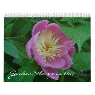 Kalender der Garten-Blumen-2017