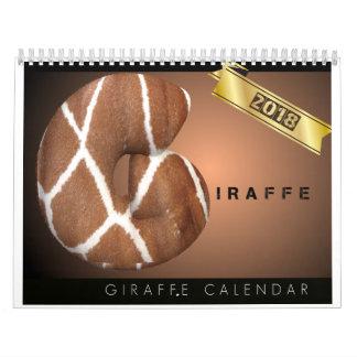 Kalender der Giraffen-2018