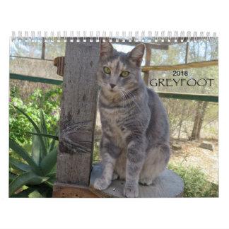 Kalender der Greyfoot Katzen-Rettungs-2018