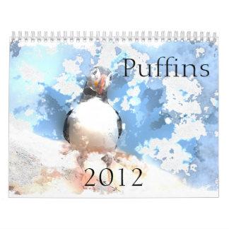 Kalender der Papageientaucher-2012