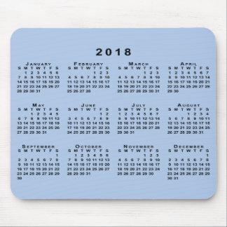Kalender des Schwarz-2018 auf kundengerechtem Mauspads
