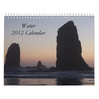 Kalender des Wasser-2012