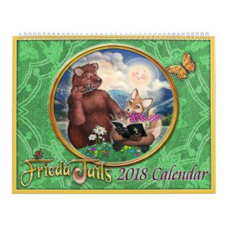 Kalender Frieda Schwänze 2018