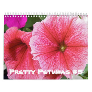 Kalender - hübsche Petunien #5