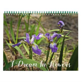 Kalender - i-Traum in den Blumen