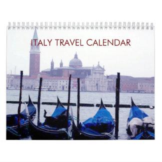 Kalender Italien-Reise-2018