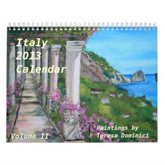 Kalender Italiens 2013 - Volumen 2