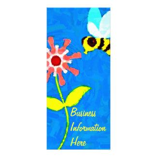 Kalender-Lesezeichen-Gestell-Karte der Hummel-Bien Individuelle Werbekarte