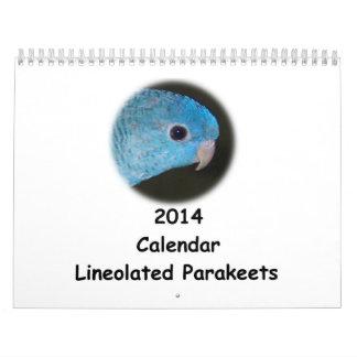 Kalender Linnie Parakeet-2014