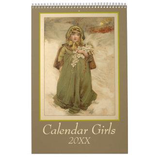 Kalender-Mädchen Abreißkalender
