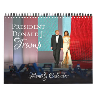 Kalender-Monatswand Präsidenten-Donald Trump 2018 Kalender