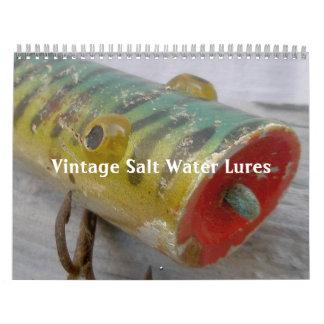 Kalender - Vintage Salzwasser-Köder