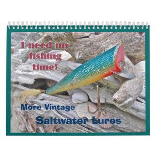Kalender - Vintagere Salzwasser-Köder