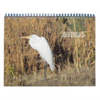 Kalender - Vögel für neues Jahr