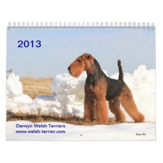 Kalender Walisers Terrier 2013 durch Darwyn