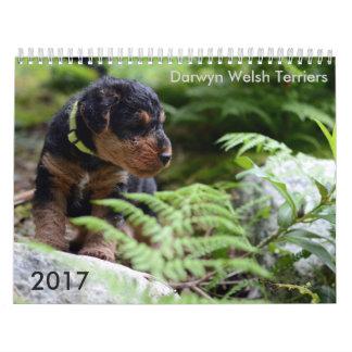 Kalender Walisers Terrier 2017 durch Darwyn