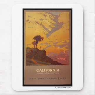 Kalifornien. Amerikas Ferien-Land Mousepads