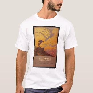 Kalifornien. Amerikas Ferien-Land T-Shirt