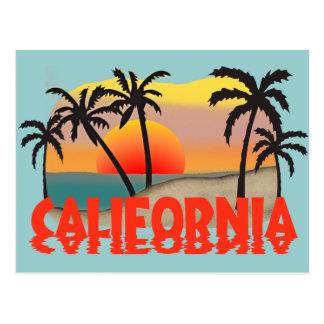 Kalifornien-Andenken Postkarte