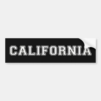 Kalifornien Autoaufkleber