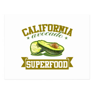 Kalifornien-Avocado Postkarte