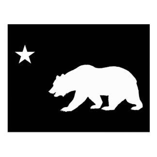Kalifornien-Bär Postkarte