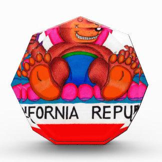Kalifornien-Bärn-Fuß-Flagge Auszeichnung