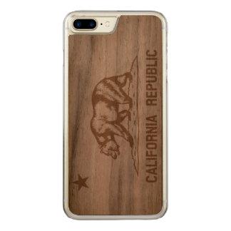 Kalifornien Carved iPhone 8 Plus/7 Plus Hülle