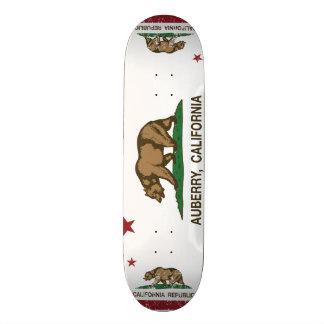 Kalifornien-Flagge auberry Flagge Skateboarddecks