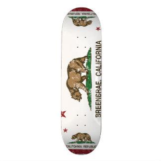 Kalifornien-Flagge breenbrae Flagge Personalisiertes Skateboarddeck